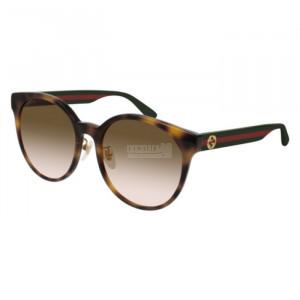 Gucci GG0416SK Sunglass WOMAN ACETATO GG0416SK-005-55