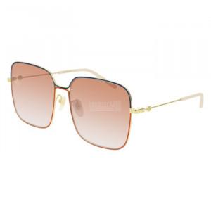Gucci GG0443S Sunglass WOMAN METALLO GG0443S-005-60