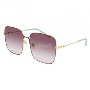Gucci GG0443S Sunglass WOMAN METALLO GG0443S-003-60