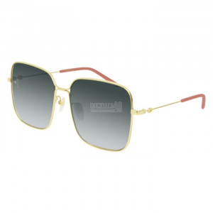 Gucci GG0443S Sunglass WOMAN METALLO GG0443S-001-60