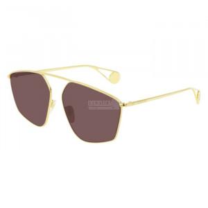 Gucci GG0437SA Sunglass WOMAN METALLO GG0437SA-001-60