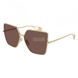 Gucci GG0436S Sunglass WOMAN METALLO GG0436S-001-61